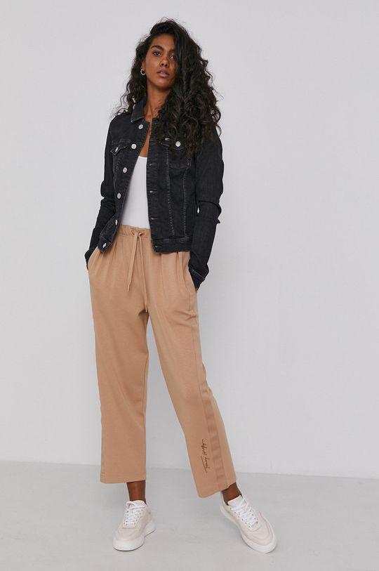 Tommy Jeans - Džínová bunda černá