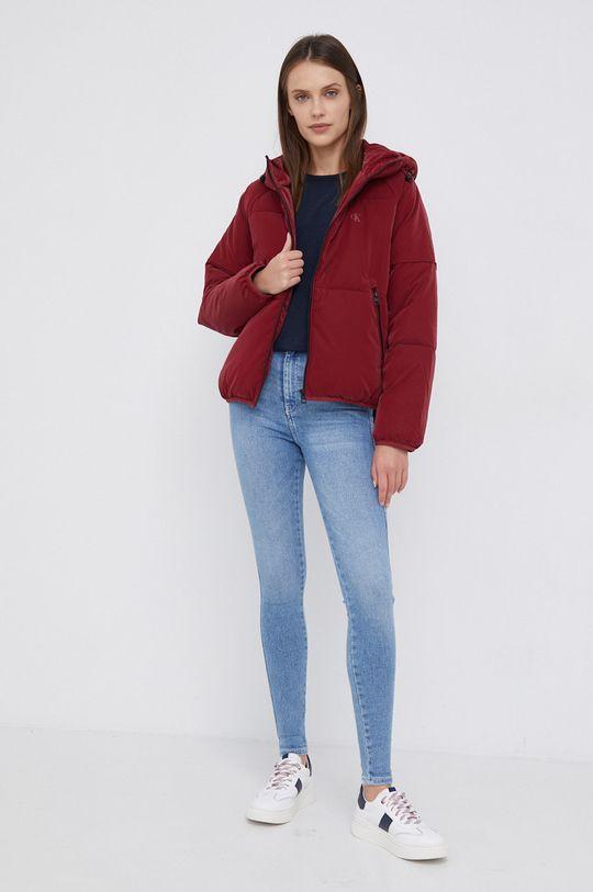 Calvin Klein Jeans - Kurtka czerwony