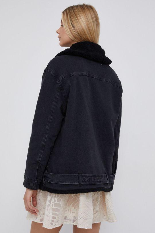 Calvin Klein Jeans - Kurtka jeansowa Podszewka: 54 % Akryl, 46 % Poliester, Materiał zasadniczy: 99 % Bawełna, 1 % Elastan, Podszewka rękawów: 100 % Poliester