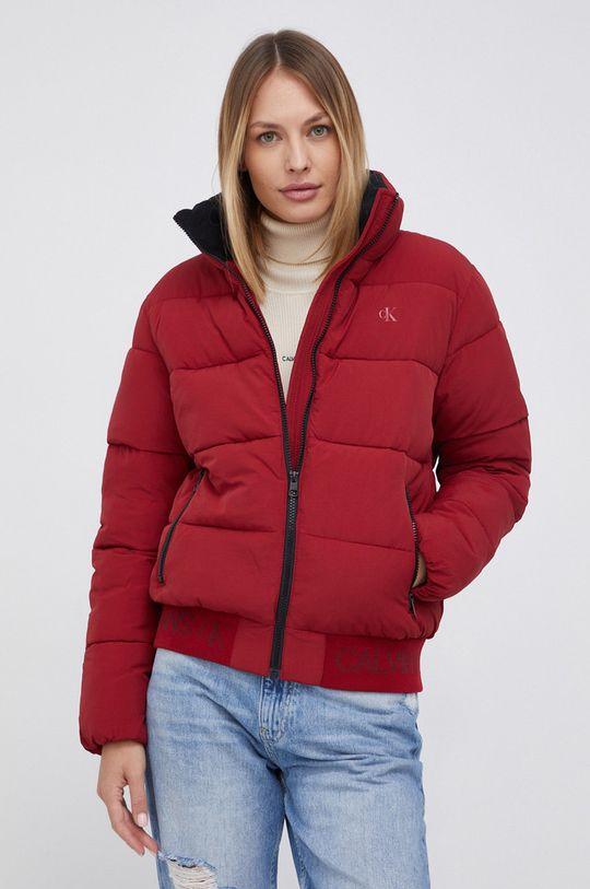 czerwony Calvin Klein Jeans - Kurtka bomber Damski