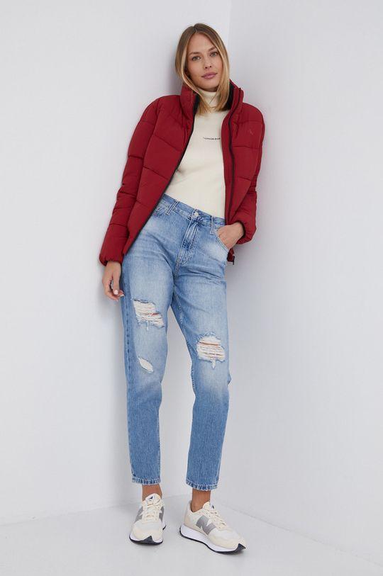 Calvin Klein Jeans - Kurtka bomber czerwony