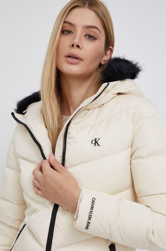 kremowy Calvin Klein Jeans - Kurtka puchowa