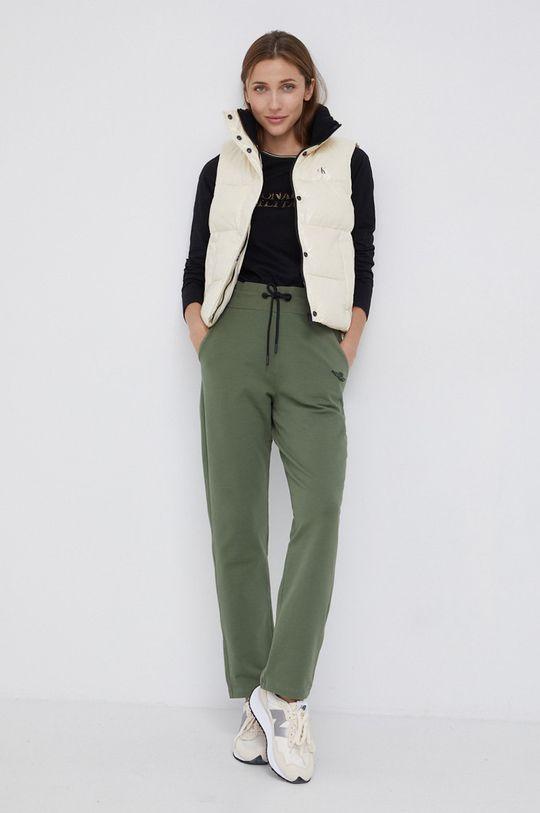 Calvin Klein Jeans - Bezrękawnik kremowy