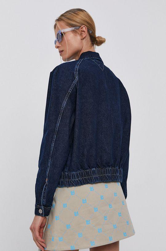 Tommy Jeans - Bavlněná džínová bunda  100% Bavlna