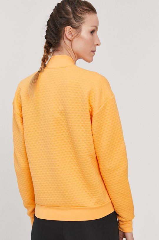 svetlo oranžová adidas Performance - Mikina