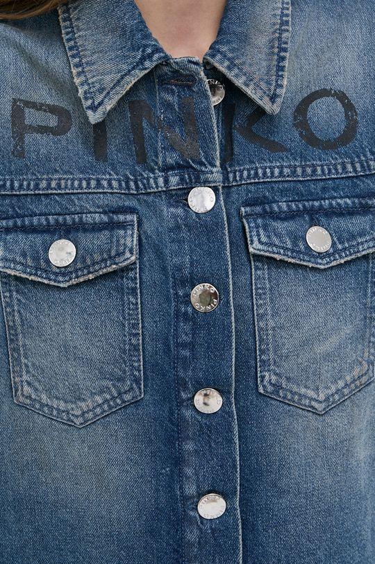 Pinko - Bezrękawnik jeansowy Damski