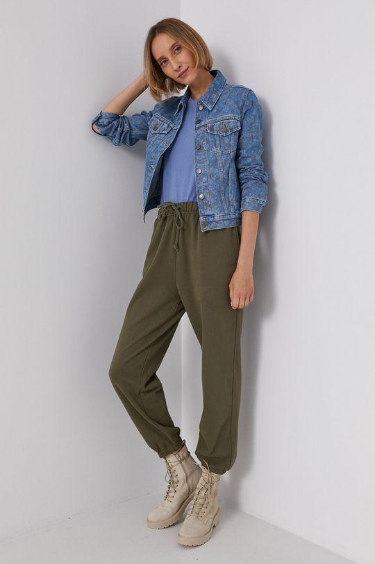 niebieski Levi's - Kurtka jeansowa Damski