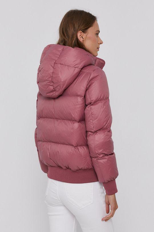 Armani Exchange - Péřová bunda pastelová