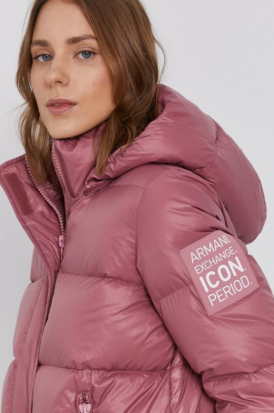 pastelová Armani Exchange - Péřová bunda