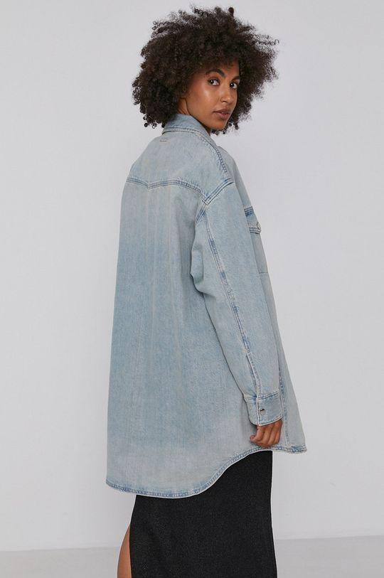 Armani Exchange - Kurtka jeansowa 100 % Bawełna