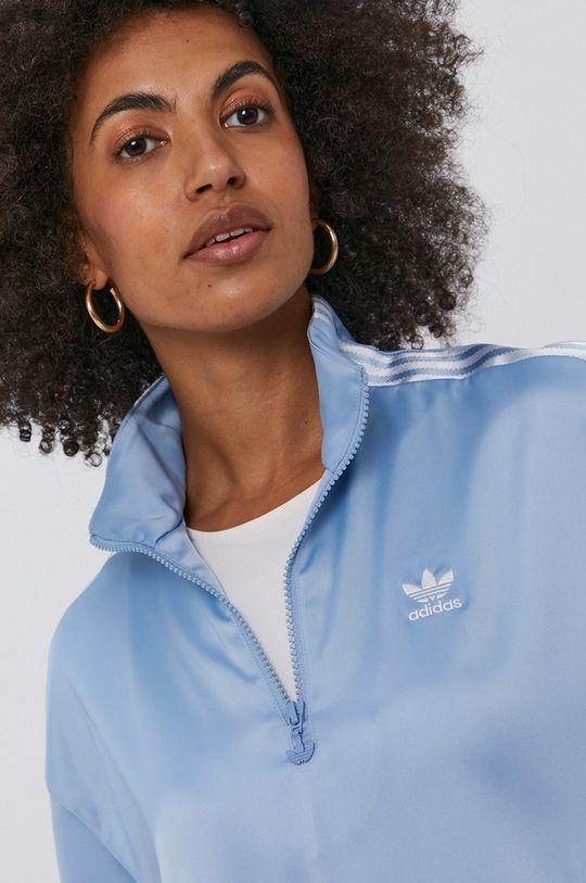 světle modrá adidas Originals - Mikina