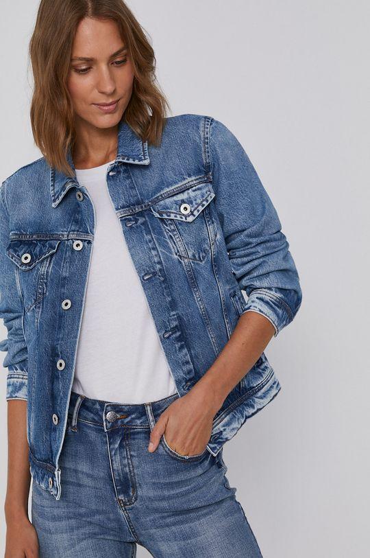 modrá Pepe Jeans - Rifľová bunda Rose Dámsky
