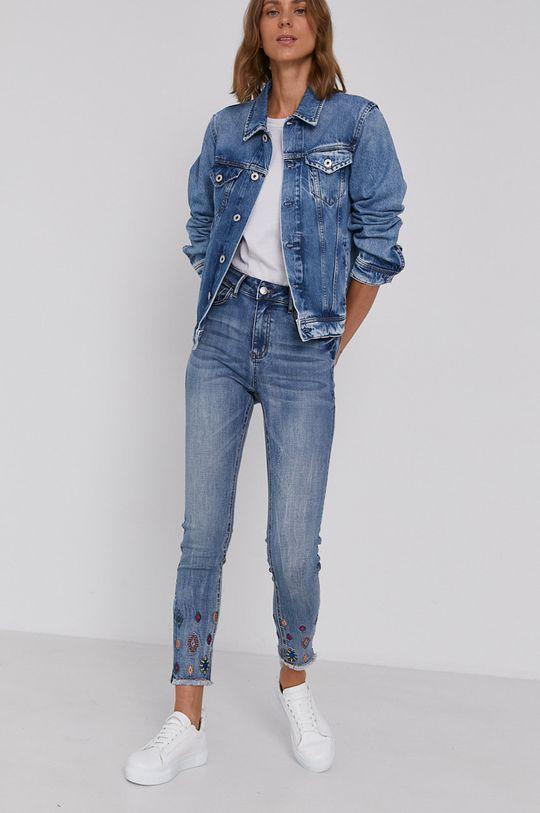 Pepe Jeans - Rifľová bunda Rose modrá