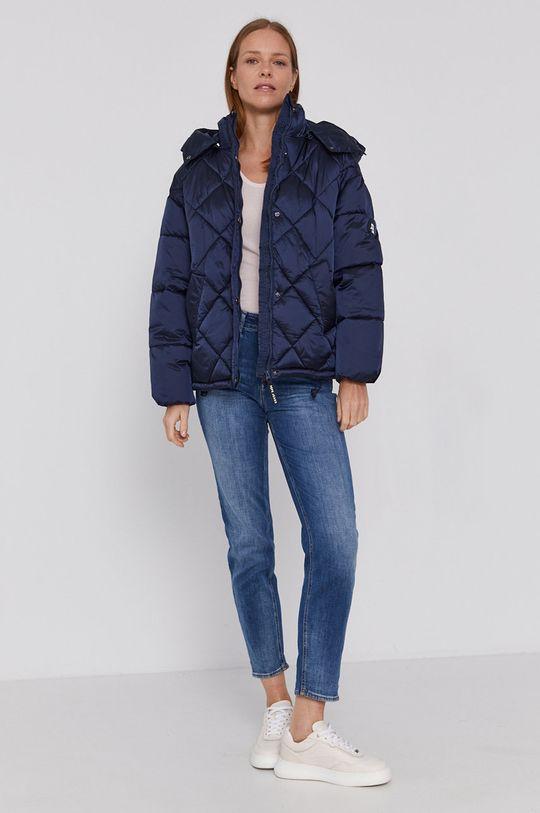 Pepe Jeans - Geaca de ploaie Claude bleumarin