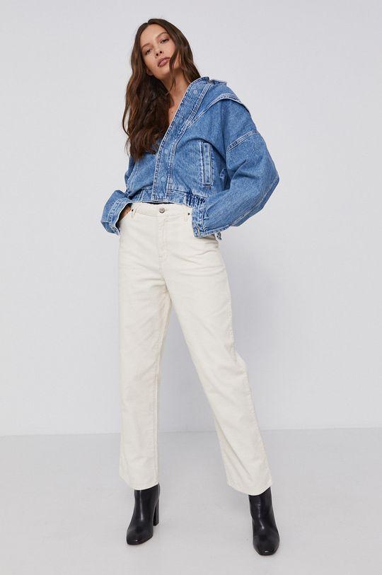 Pepe Jeans - Kurtka jeansowa bawełniana Jacky niebieski