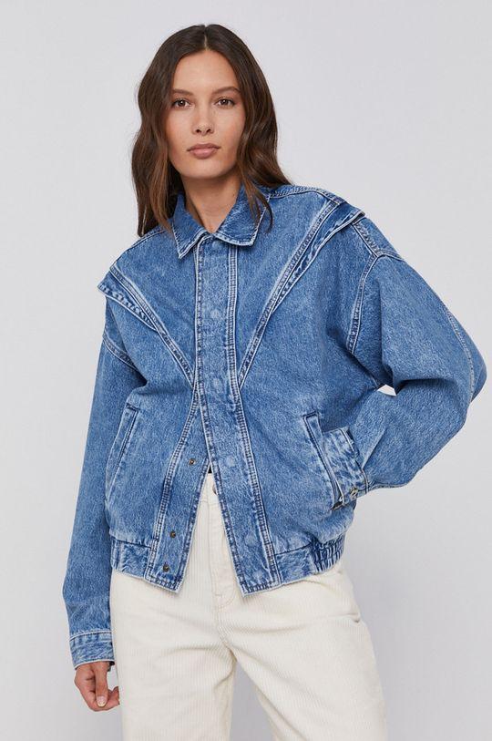 niebieski Pepe Jeans - Kurtka jeansowa bawełniana Jacky