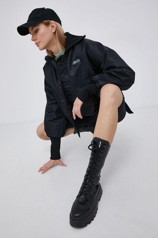 černá adidas Originals - Bunda Dámský
