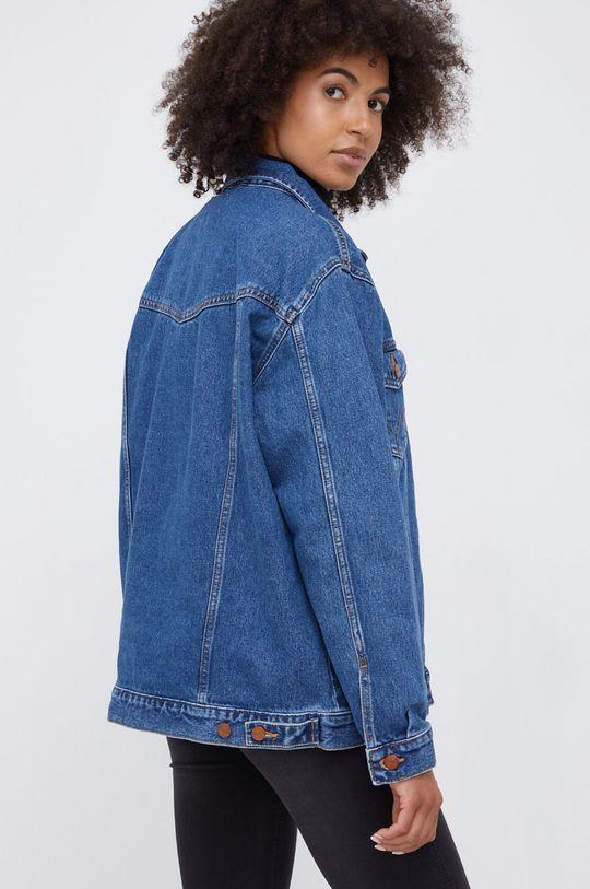 Wrangler - Kurtka jeansowa bawełniana 100 % Bawełna