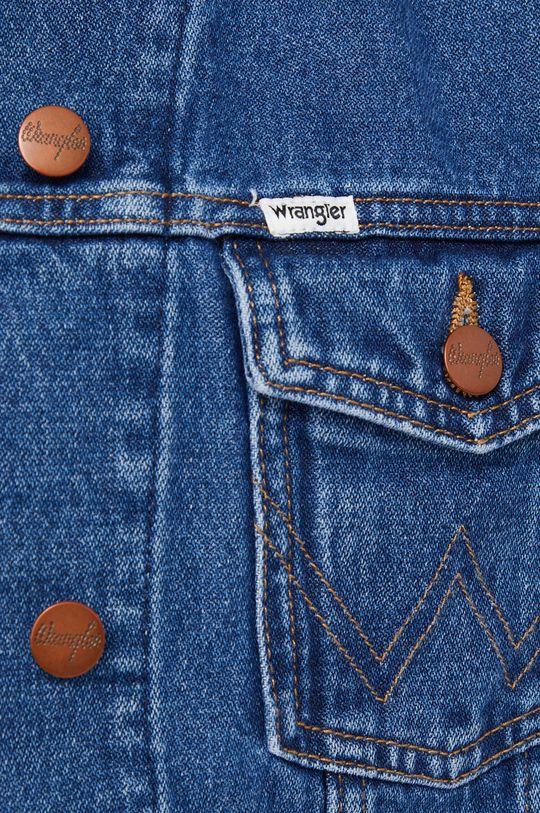 Wrangler - Kurtka jeansowa bawełniana Damski