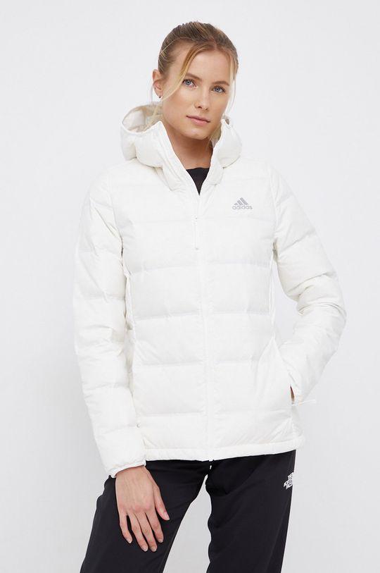 biały Adidas Performance - Kurtka puchowa Damski