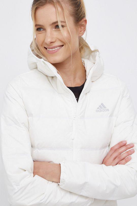 biały Adidas Performance - Kurtka puchowa