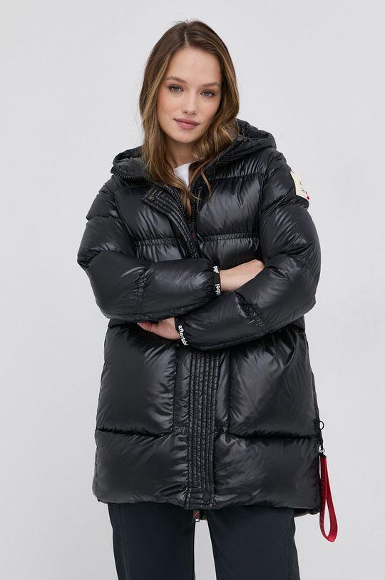 černá After Label - Péřová bunda