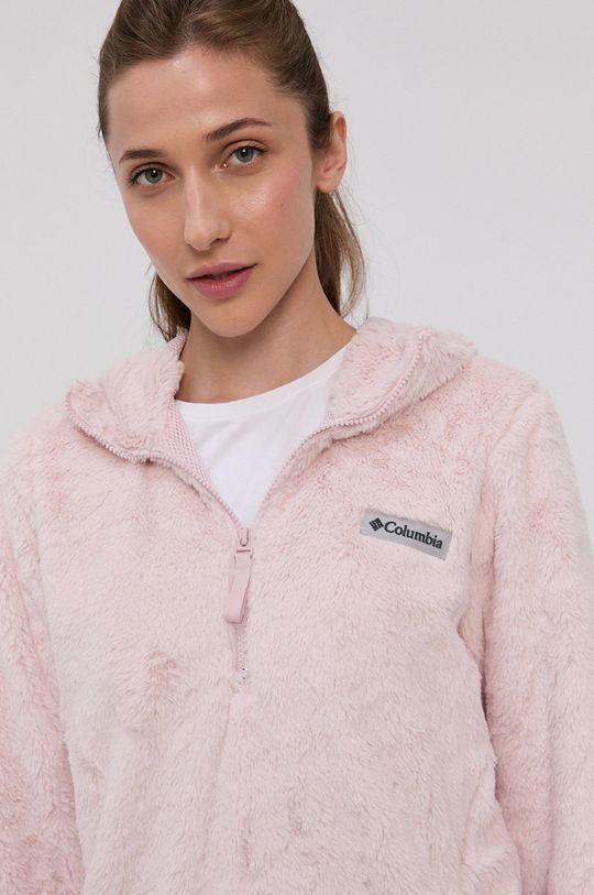 fiołkowo różowy Columbia - Bluza