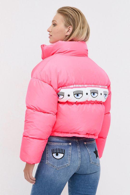 Chiara Ferragni - Páperová bunda Maxilogomania  Podšívka: 100% Polyester Výplň: 20% Páperie, 80% Kačacie páperie Základná látka: 100% Polyester