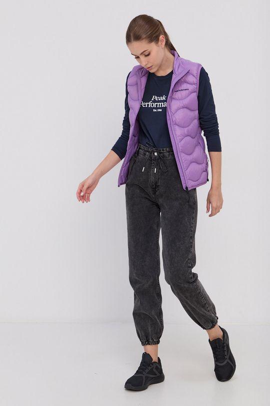 Peak Performance - Vesta de puf violet