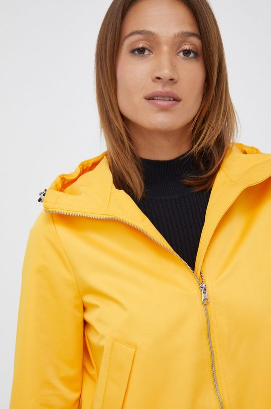żółty United Colors of Benetton - Kurtka