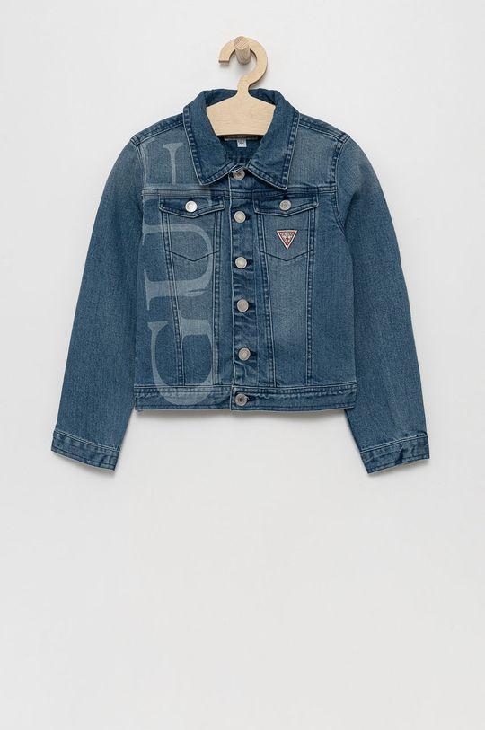 niebieski Guess - Kurtka jeansowa dziecięca Dziewczęcy