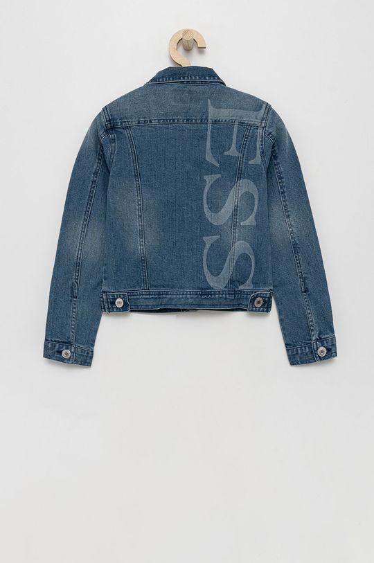Guess - Kurtka jeansowa dziecięca niebieski