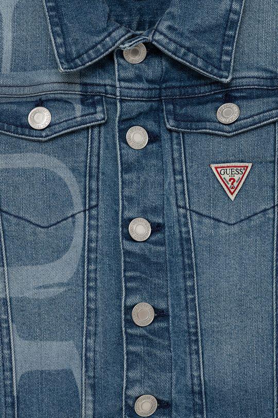 Guess - Kurtka jeansowa dziecięca 98 % Bawełna, 2 % Spandex