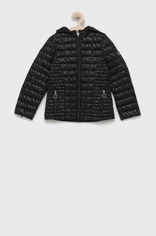 černá Guess - Dětská bunda Dívčí