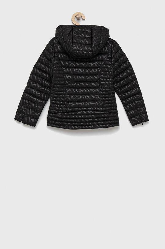 Guess - Dětská bunda černá