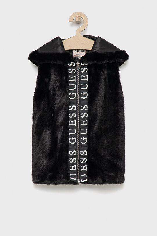 černá Guess - Dětská vesta Dívčí