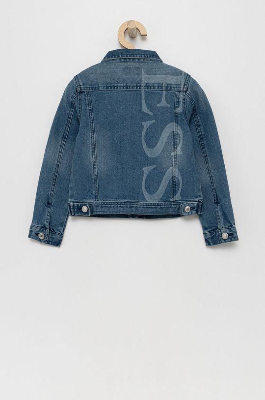 Guess - Dětská riflová bunda modrá
