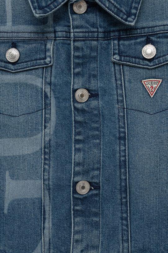 Guess - Dětská riflová bunda  98% Bavlna, 2% Spandex