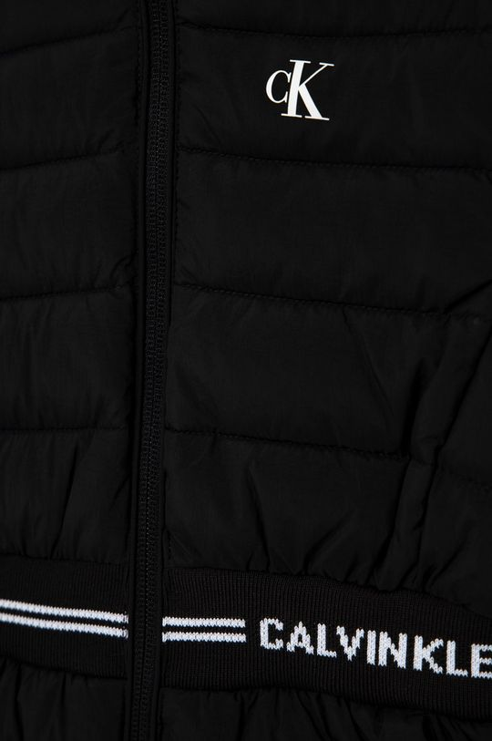 Calvin Klein Jeans - Kurtka dziecięca Podszewka: 100 % Poliester, Wypełnienie: 100 % Poliester, Materiał zasadniczy: 100 % Bawełna, Ściągacz: 3 % Elastan, 97 % Poliester