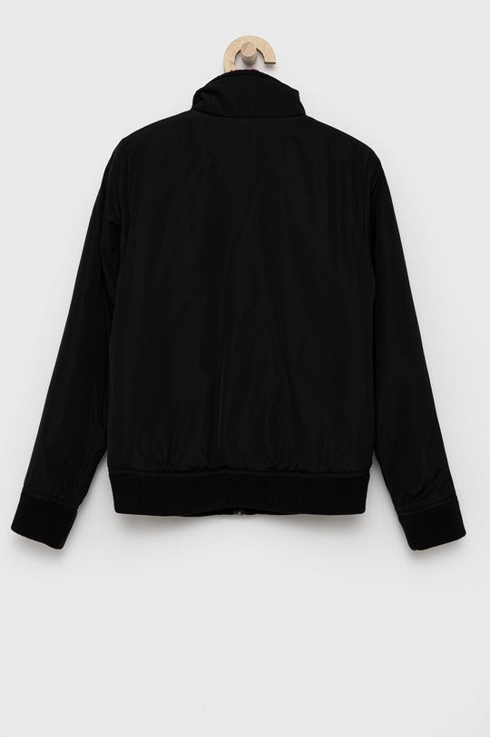 Calvin Klein Jeans - Dětská oboustranná bunda  Materiál č. 1: 100% Polyester Materiál č. 2: 80% Bavlna, 6% Elastan, 14% Polyester