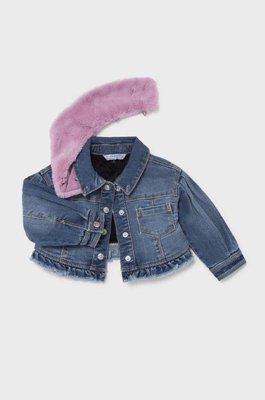 Mayoral - Kurtka jeansowa dziecięca Podszewka: 100 % Poliester z recyklingu, Materiał zasadniczy: 80 % Bawełna, 2 % Elastan, 18 % Poliester