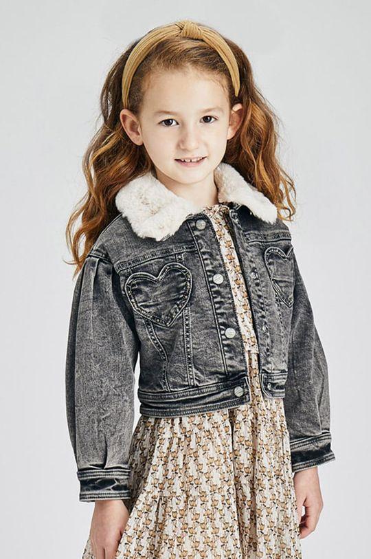 šedá Mayoral - Dětská riflová bunda Dívčí