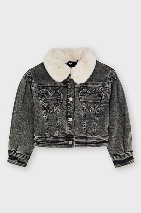 Mayoral - Dětská riflová bunda šedá