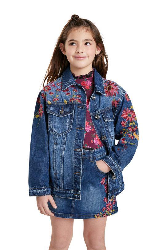 Desigual - Geaca de blugi pentru copii De fete