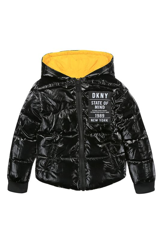 żółty Dkny - Kurtka dwustronna dziecięca