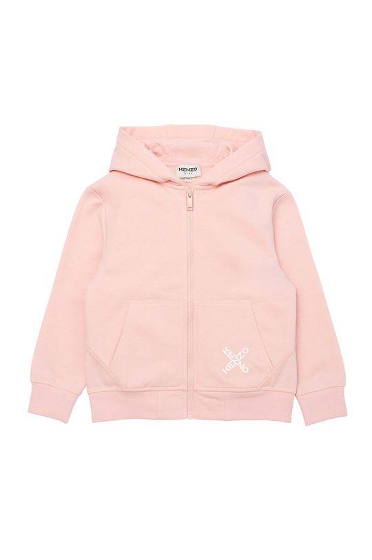 różowy KENZO KIDS - Kurtka dziecięca Dziewczęcy