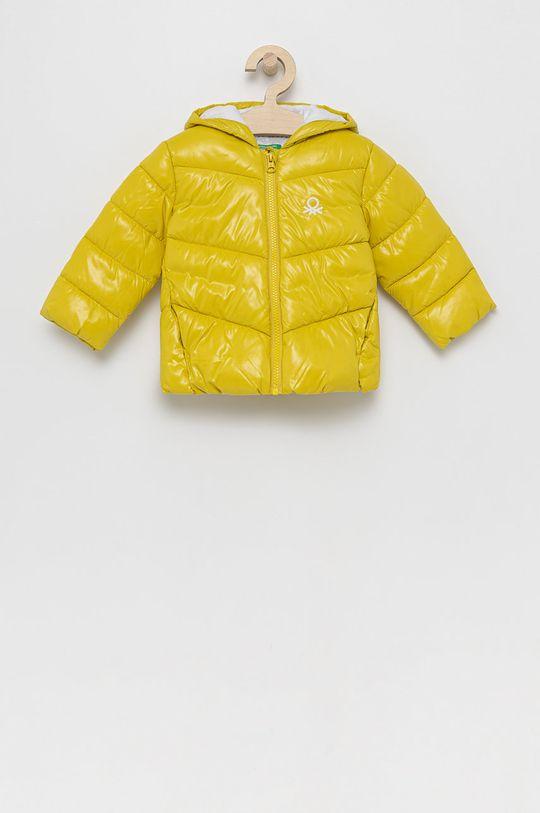 galben United Colors of Benetton - Geaca copii De fete