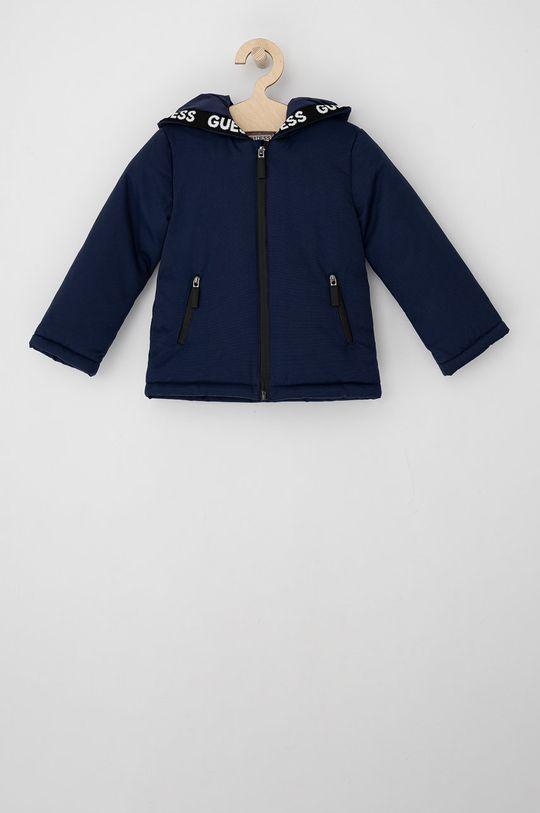 námořnická modř Guess - Dětská bunda Dětský