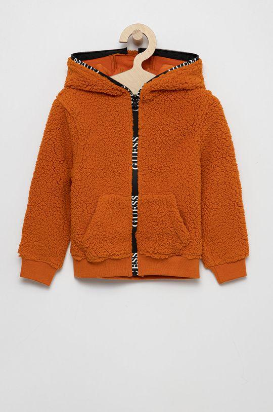portocaliu Guess - Bluza copii De copii