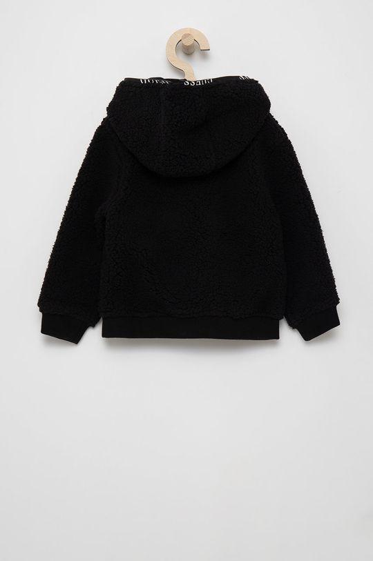 Guess - Detská mikina čierna